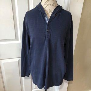 Eddie Bauer Outdoor Hooded Pullover Shirt